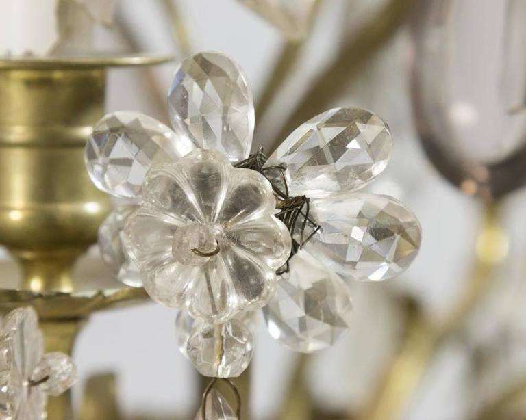 Louis XV Style Gilt Bronze Girandole Syle Electrified Candelabra