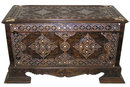 Islamic Wooden Coffer Cassone Trunk