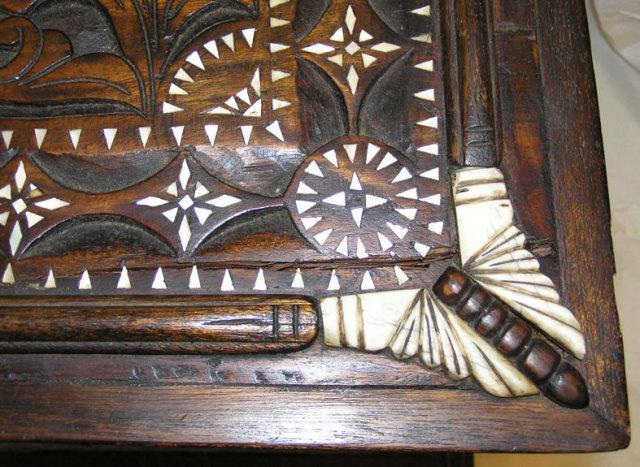 Islamic Wooden Coffer Cassone Trunk
