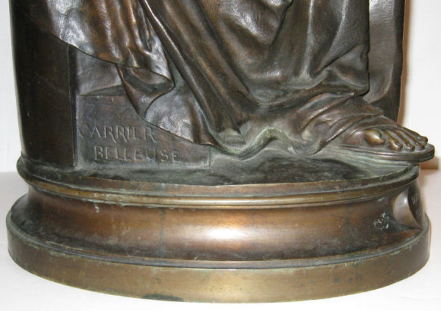 Albert-Ernest Carrier-Belleuse Bronze Figurine Sculpture