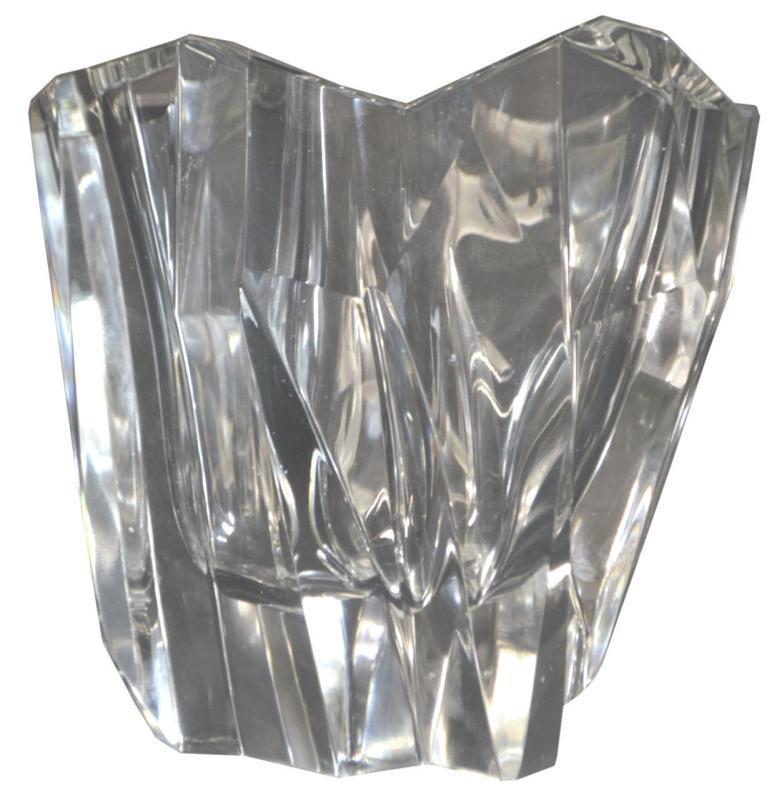 1950 Crystal Vase Iceberg by Tapio Wirkkala (1915-1985)