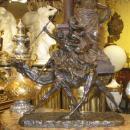 Orientalist Soldier on Camel Bronze Sculpture After Jean-Baptiste Belloc (1863-1919)
