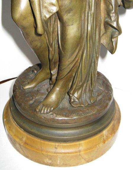 La Vigne Bronze Sculptures After Moreau
