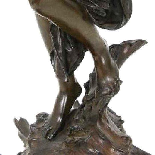 Fortuna Roman Goddess Bronze by Luca Madrassi