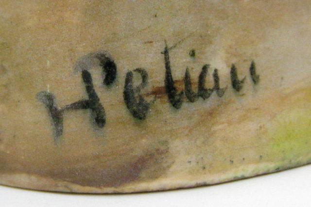 Hygies Petian Orientalist Ceramic Flask