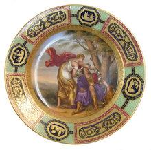 Rinaldo et Armida Royal Vienna Plate