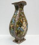 Czech Majolica Vase by Schutz Cilli