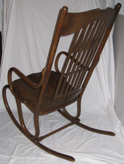Antiques Art Vintage - Antique bentwood rocker rocking chair