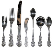 102 Pc Set Reed & Barton Francis I Sterling Flatware