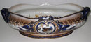 Antique Keller & Guerin Luneville French Ceramic Centerpiece Bowl