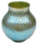 Loetz Creta Silberiris Rusticana Glass Vase
