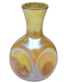 Tiffany Steuben Manner Iridescent Glass Vase
