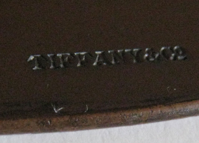 Tiffany & Co Arts & Crafts Bronze Charger