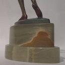 Josef Lorenzl Chryselephantine Bronze Sculpture