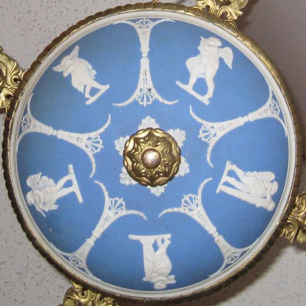 Wedgwood Blue & White Jasperware Chandelier