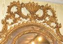 Rococo Venetian Style Giltwood & Gesso Mirror