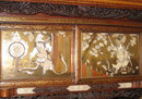 Japanese Meiji Period Lacquered & Inlaid Rosewood Cabinet