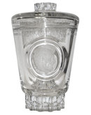 Large Lobmeyr Crystal Glass Goblet with Abraham Lincoln Engraved Portrait