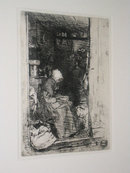 James Abbott McNeill Whistler Framed Etching