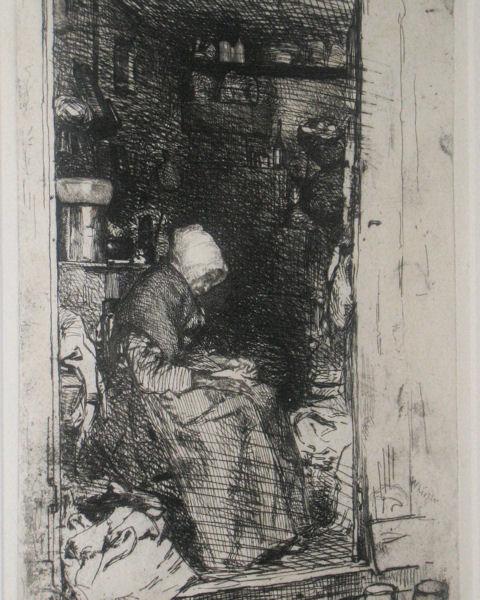 James Abbott McNeill Whistler Framed Etching