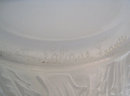 Lalique Opalescent Domremy Thistle Motif Glass Vase