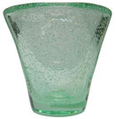 Daum Nancy Green Pulegoso Glass Vase