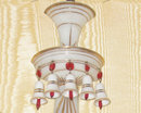 Pair of Venetian Style Opaline Glass Sconces Attr. to Baccarat