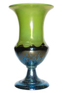 Art Deco Period Iridescent Loetz Glass Vase with Ausführung 226 Decor