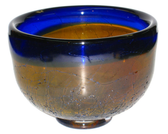 Ann Warff Glass Bowl for Kosta