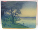 1917 Rookwood Scenic Vellum Glaze Plaque by Sallie Coyne