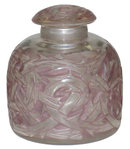 Epines Mauve Glass Perfume Bottle by Rene Lalique