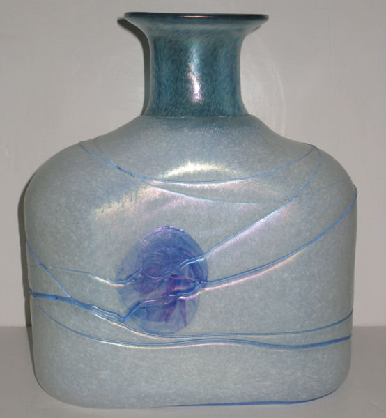 Glass Vase by Bertil Vallien for Kosta Boda