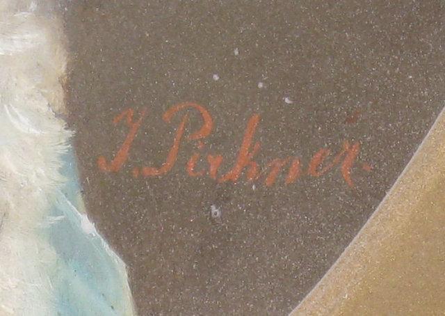 Pair of Antique Viennese Porcelain Portrait Plaques by Pirkner