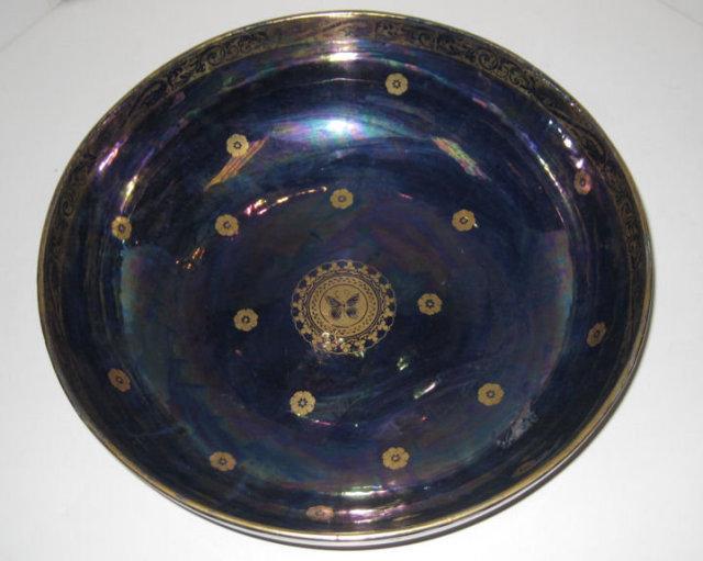 Large Maling Coronet Lustreware Bowl