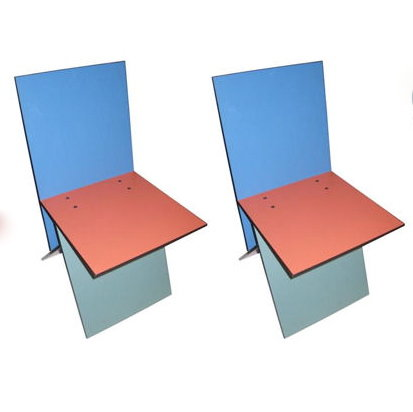 Pair of Verner Panton Vilbert Side Chairs