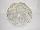 Fontana Arte Sculptural Glass Sphere Table Lamp c1960s