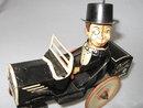 RARE!!  1930'S CHARLIE MC CARTHY TIN WIND-UP