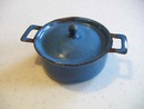 ENAMELWARE TOY COOK POT & LID