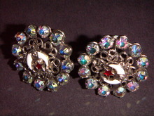 SHRINER'S RHINESTONE EARRINGS