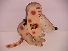 PURDUE UNIVERSITY STUFFED MASCOT DOG