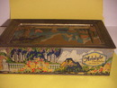 VINTAGE MAXFIELD PARRISH-STYLE CHOCOLATE TIN