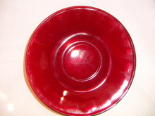 ROYAL RUBY SAUCER