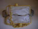 1930'S ALUMESH PURSE W/CELLULOID FRAME