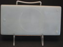 DIVIDED MILK GLASS DENTAL TRAY-6 PART