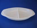 PYREX 1.5QT DIVIDED SERVING DISH-WHITE