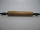 RARE ROLLING PIN WITH BLUE HANDLES