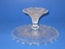PATTERN GLASS CAKE STAND