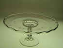 CUT GLASS VIKING/NEW MARTINSVILLE CAKE STAND