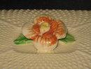 RARE JAPANESE MAJOLICA SARDINE/CIGARETTE BOX WITH LID