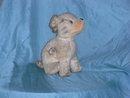 Old stuffed dog